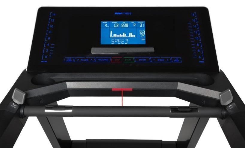 Flow Fitness T3i počítač