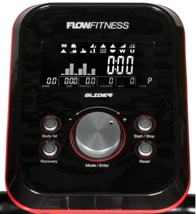 Flow Fitness DHT25000 počítač