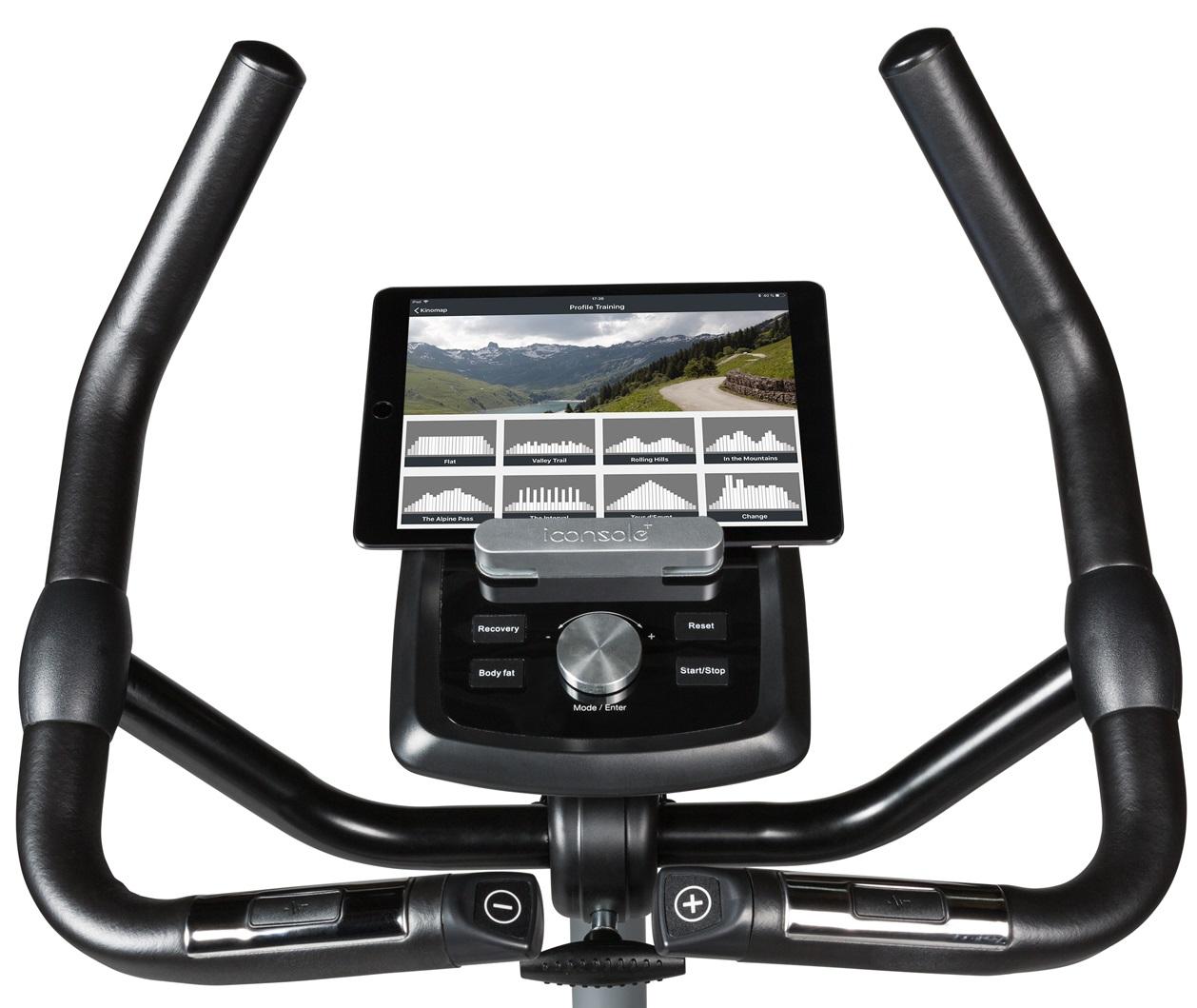 Flow Fitness DHT2000i aplikace