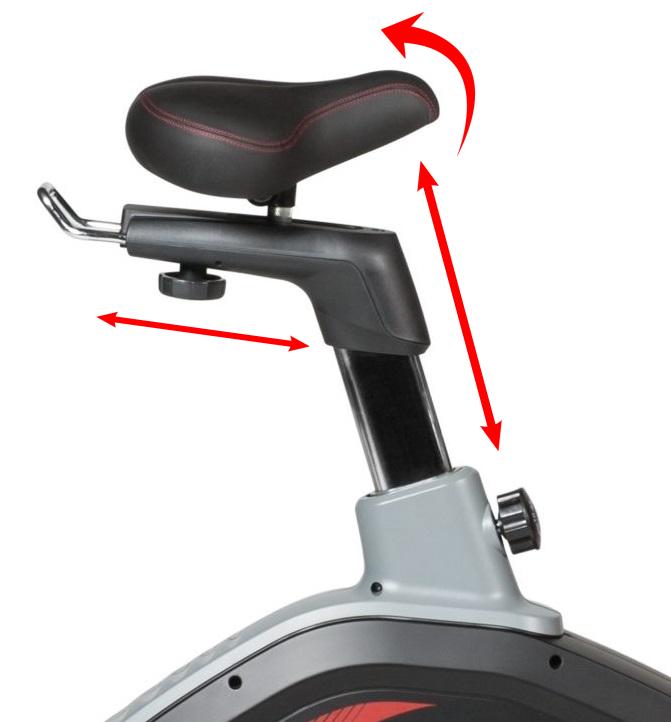 Flow Fitness DHT2000i sedlo