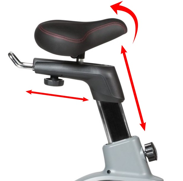 Flow Fitness DHT2500i sedlo