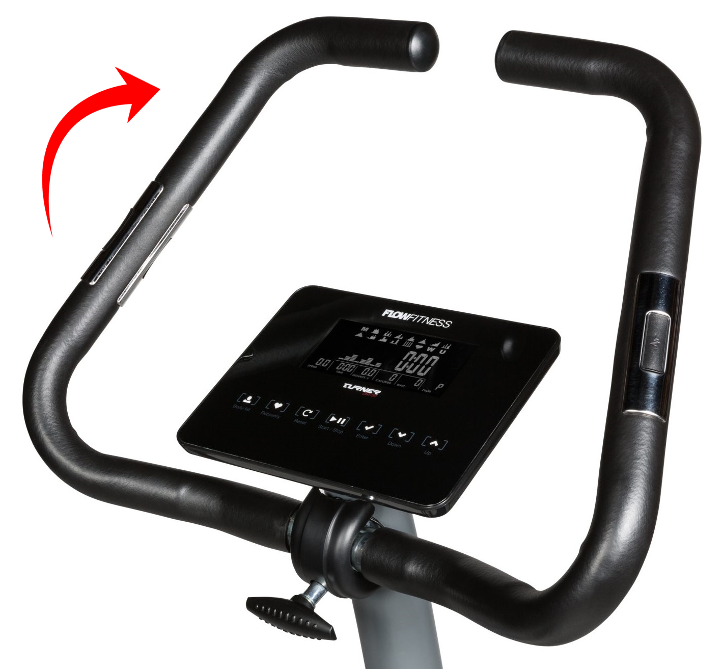 Flow Fitness DHT750 řidítka