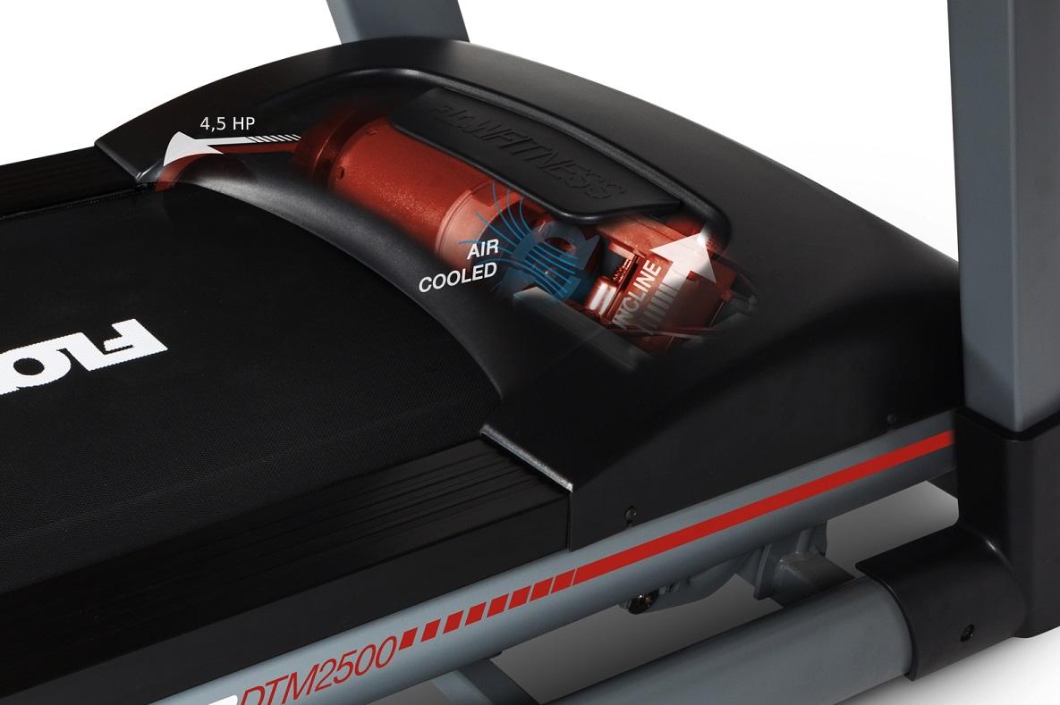 Flow Fitness DTM25000 motor