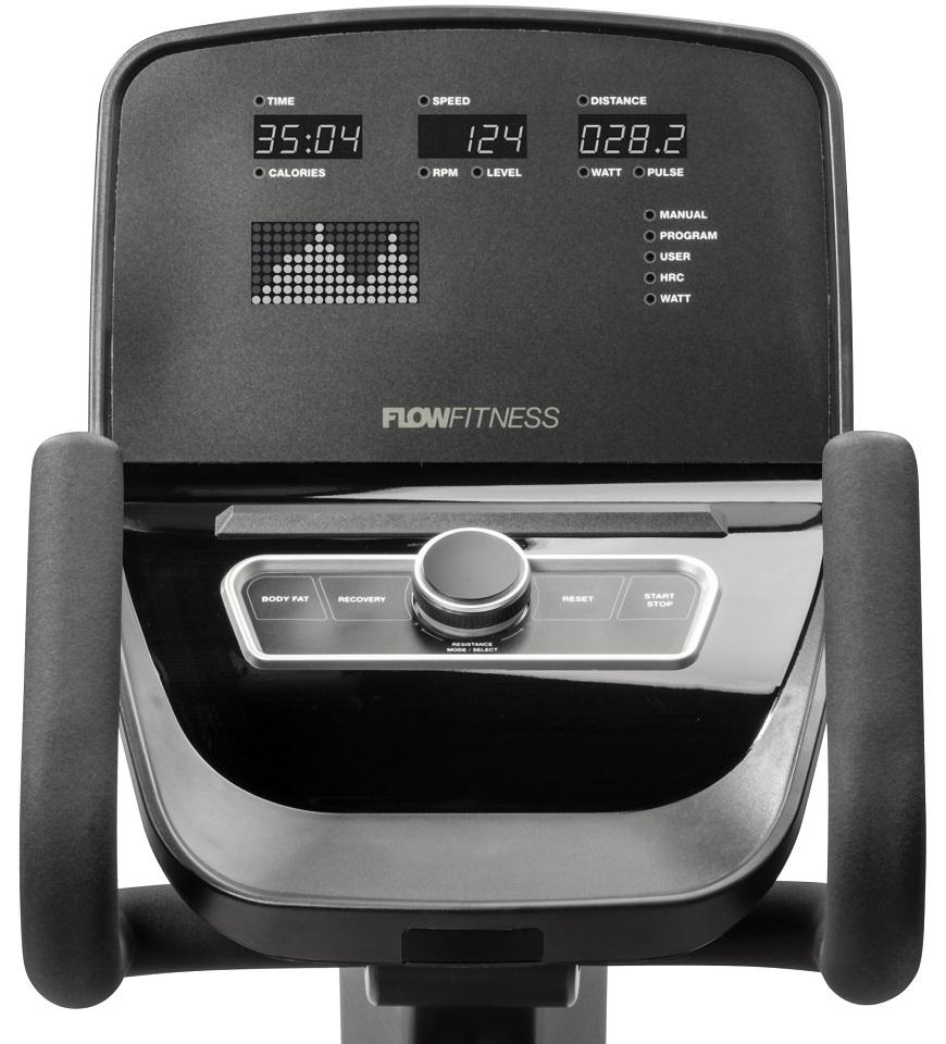 Flow Fitness RB5i počítač