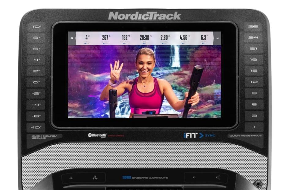 NordicTrack FreeStrider FS9i počítač