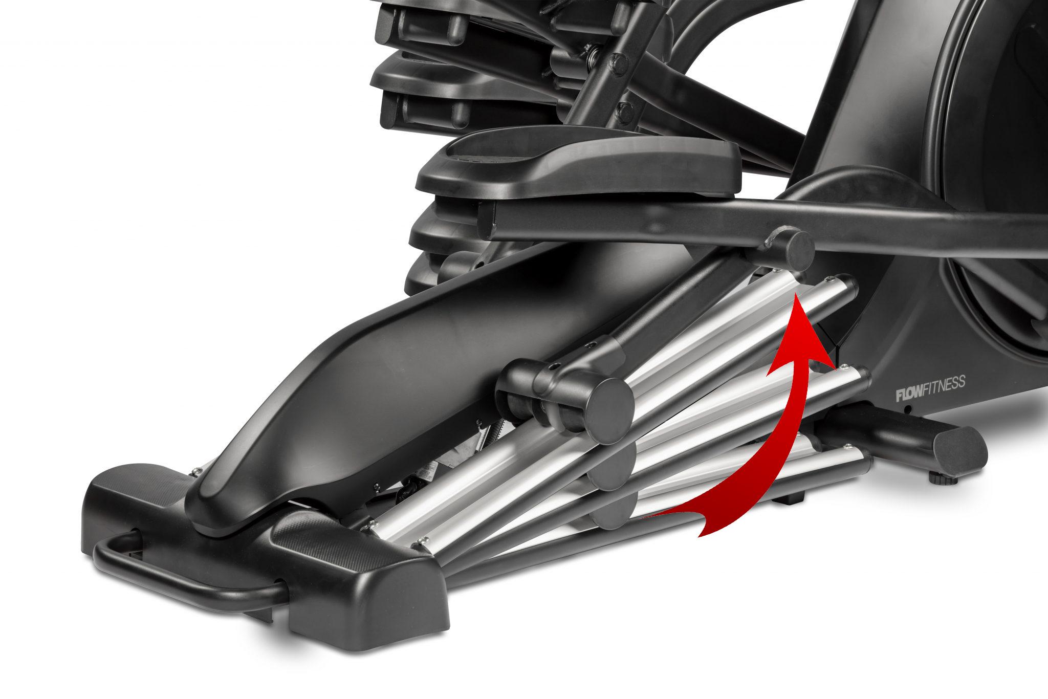 Flow Fitness CF5i Pro Line nastavení sklonu