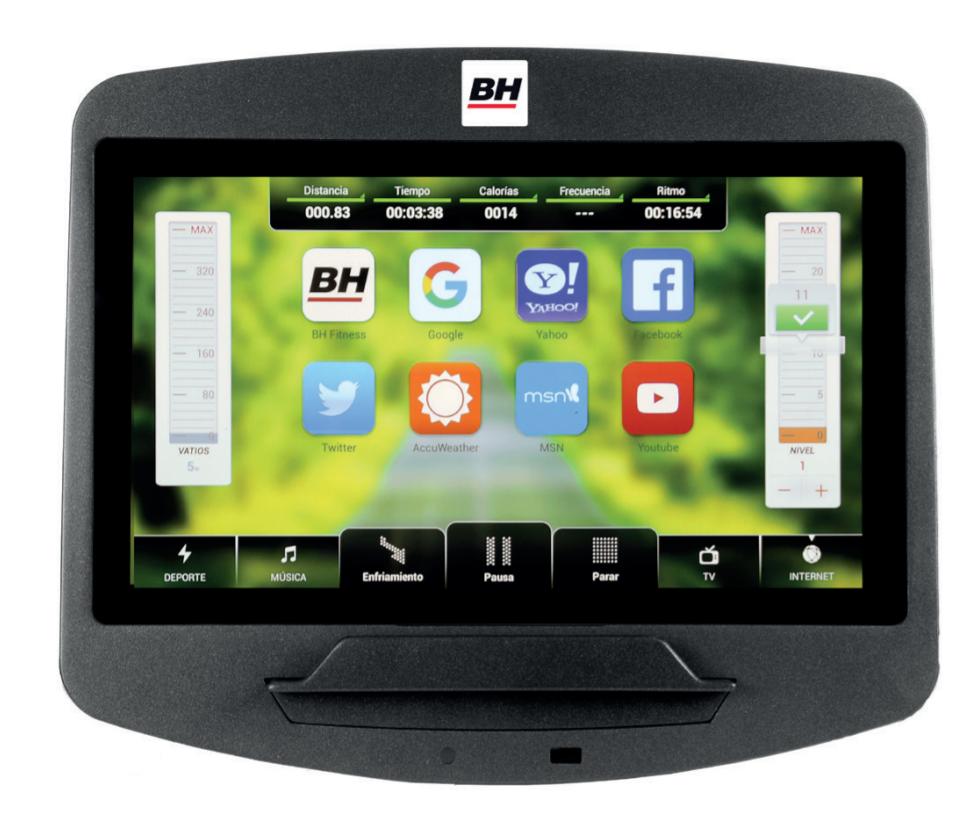 BH Fitness LK7550 SmartFocus počítač