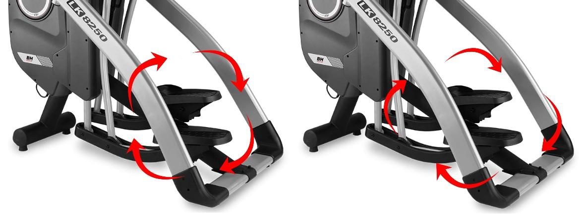 "BH Fitness LK8250SmartFocus 16"" krok"