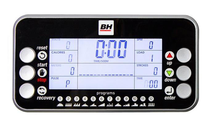 BH Fitness Movemia RW1000 počítač