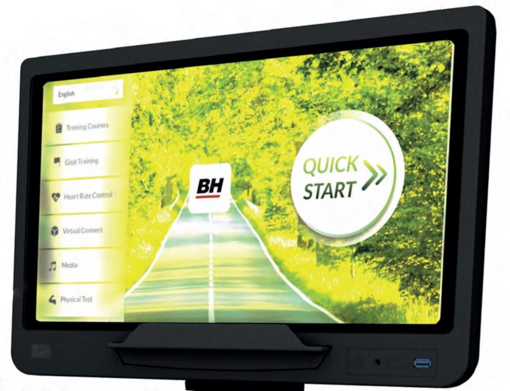 BH Fitness Movemia TR1000 počítač