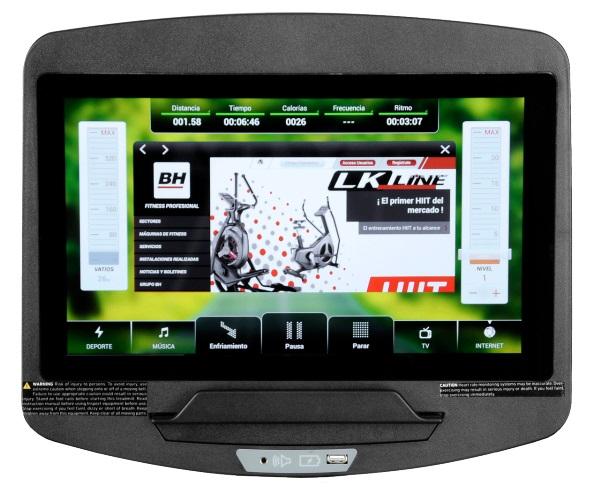 BH Fitness SK8950 SmarFocus počítač