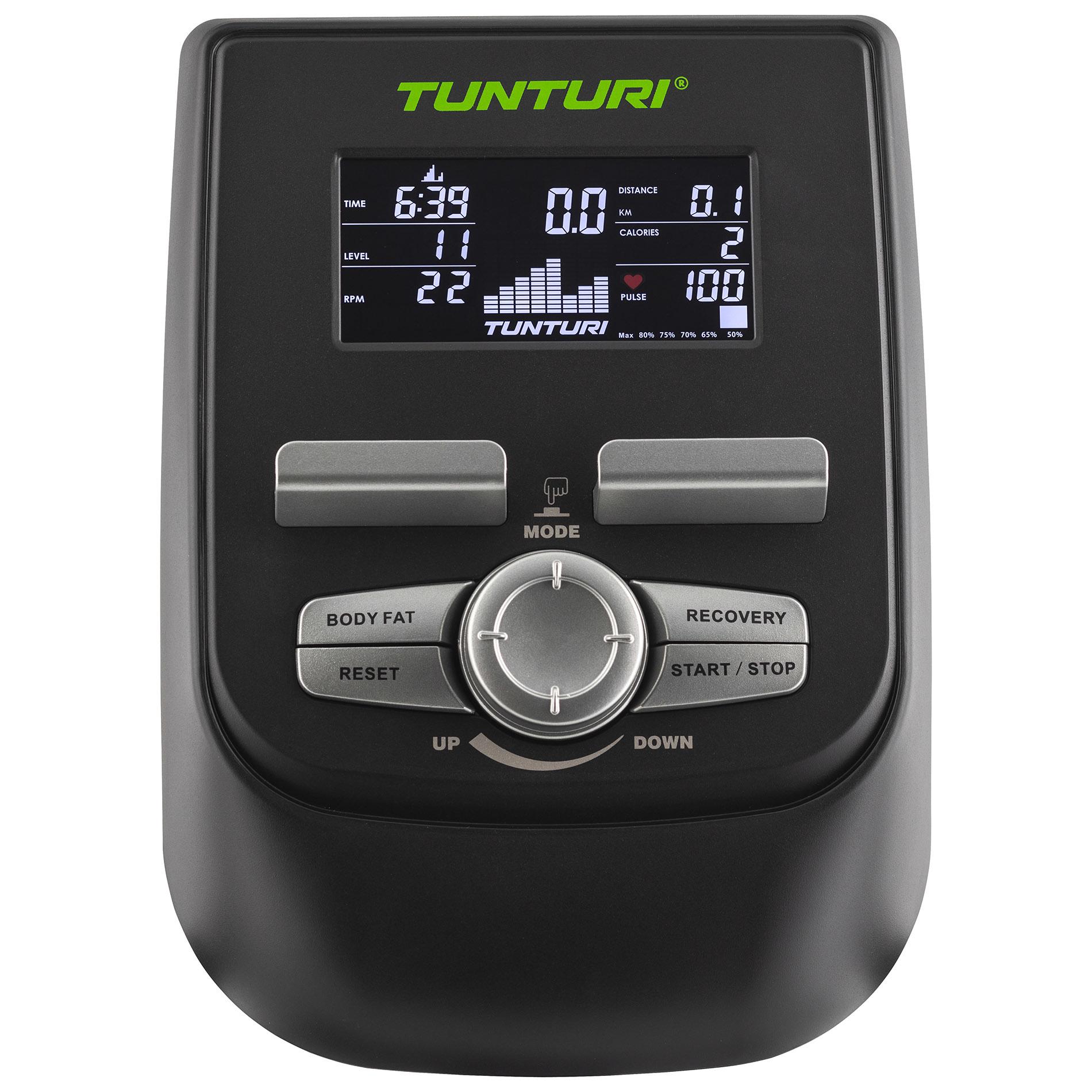 Programová nabídka Tunturi F40