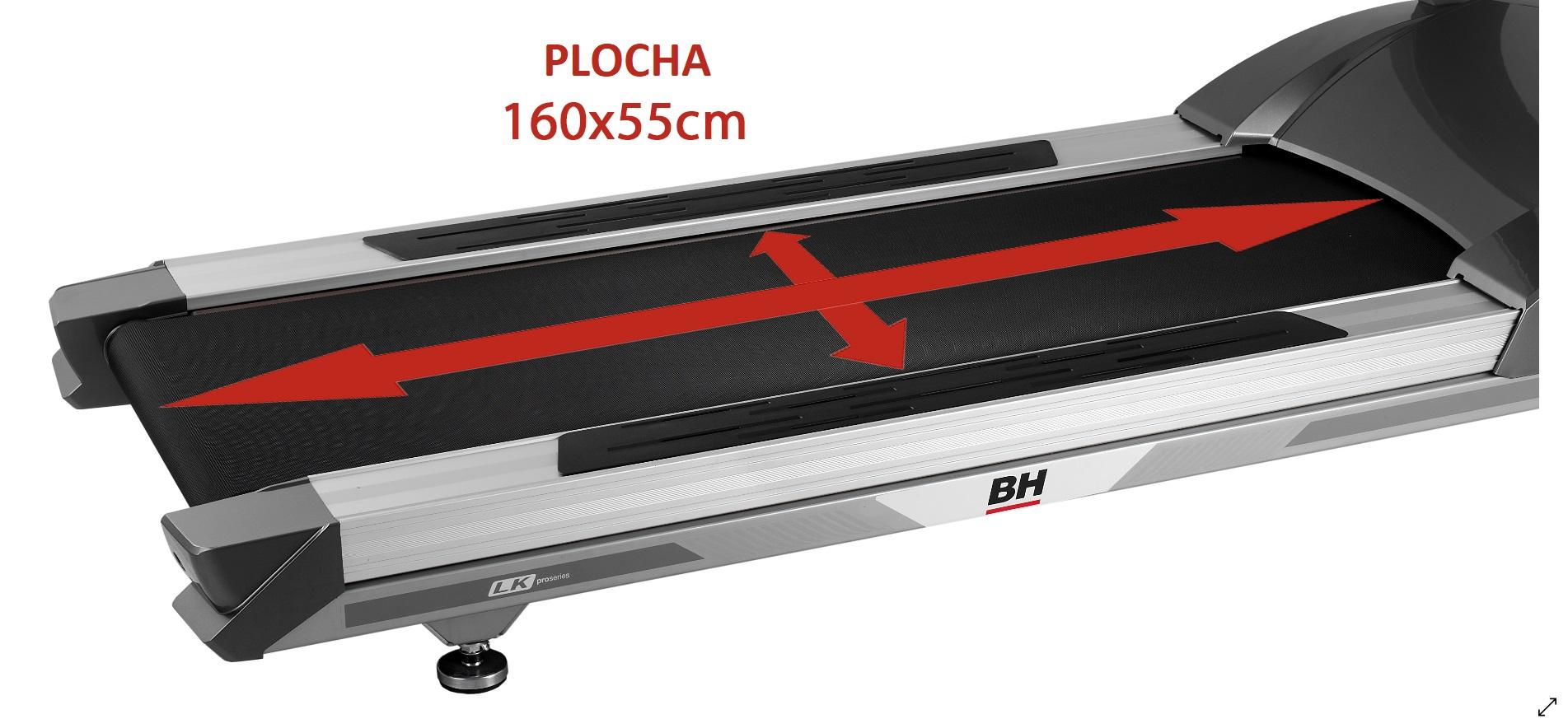 BH Fitness LK6800 běžecká plocha