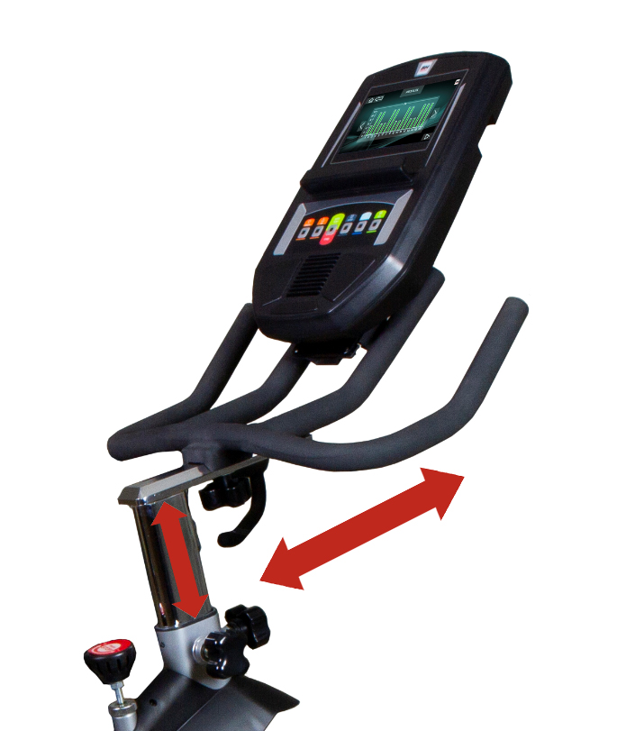 BH Fitness Spada II TFT řidítka