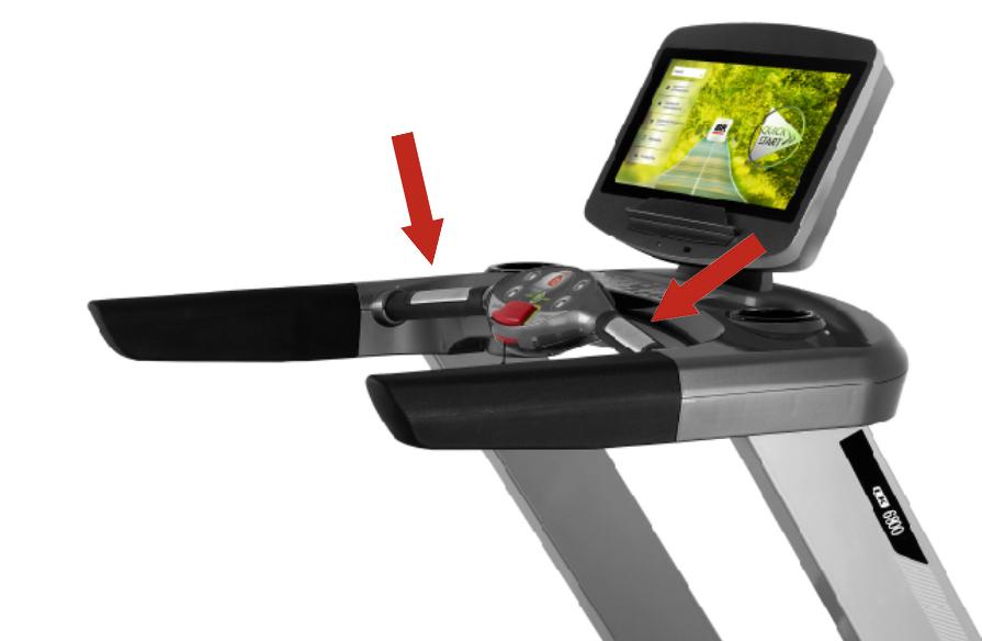 BH Fitness LK6800SmartFocus snímání tepu
