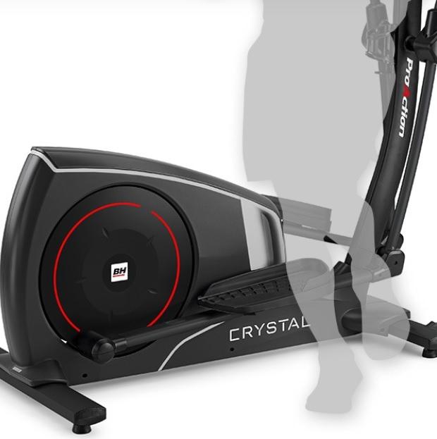 BH Fitness CRYSTAL 2.0 snadný přístup