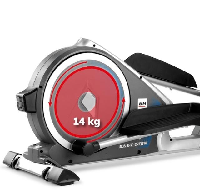 BH Fitness EasyStep setrvačníkový systém