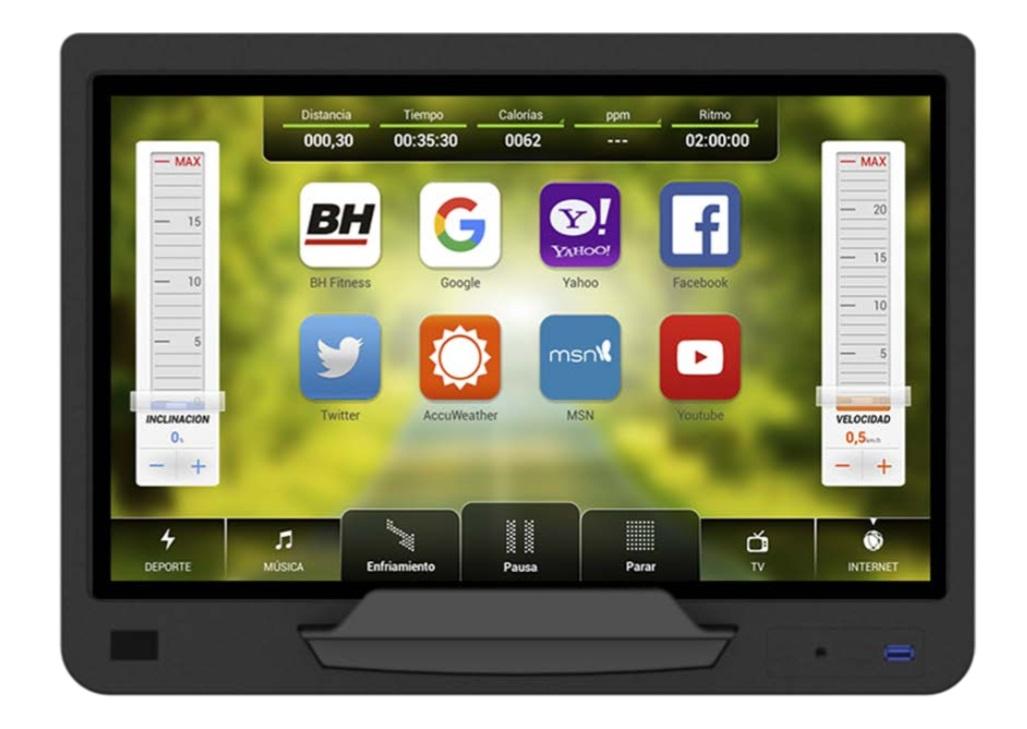 BH Fitness SK8000 SmartFocus počítač