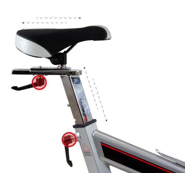 BH Fitness Stratos sedlo