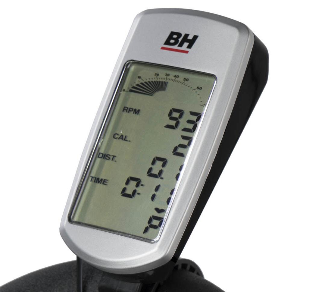 BH Fitness Stratos počítač
