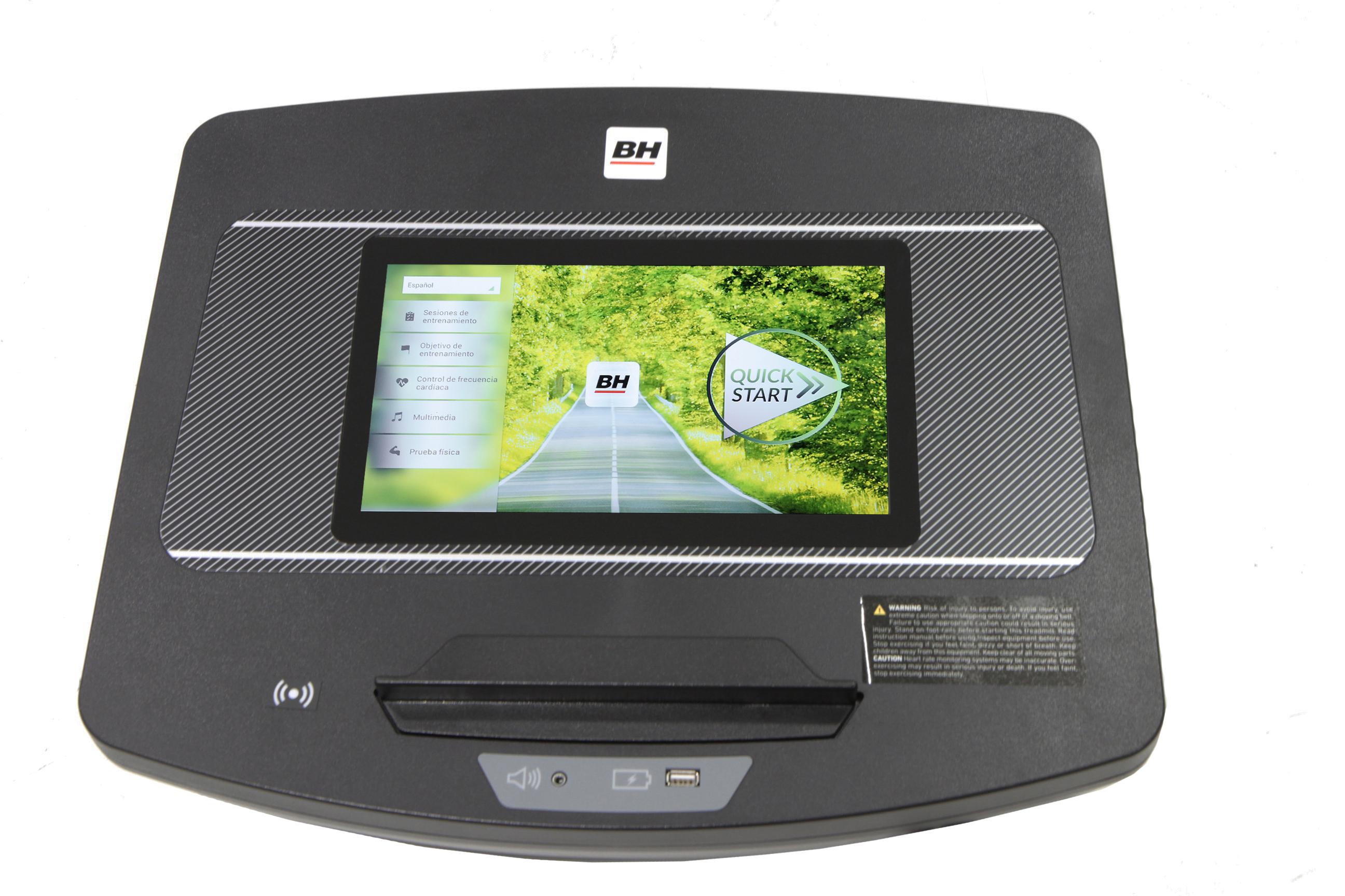 BH Fitness LK5500 SmartFocus počítač