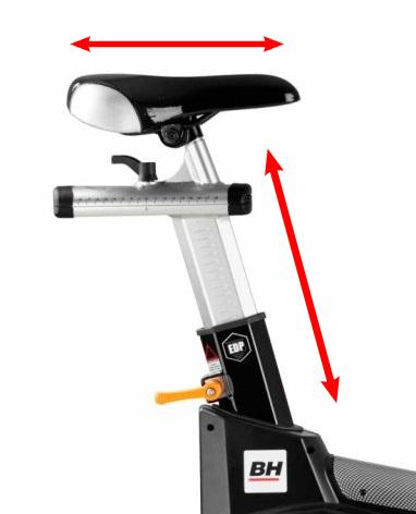 BH Fitness Super Duke Magnetic sedlo