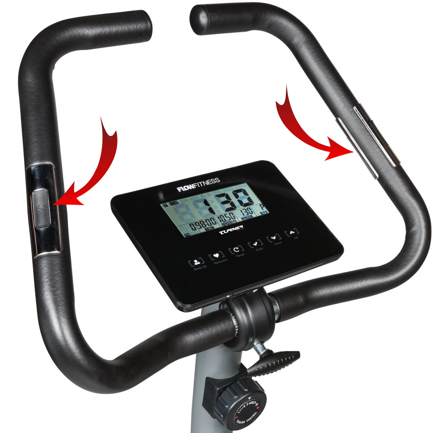 Flow Fitness DHT500 hand pulse