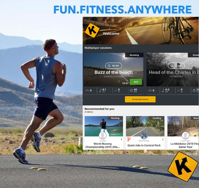 Flow Fitness app