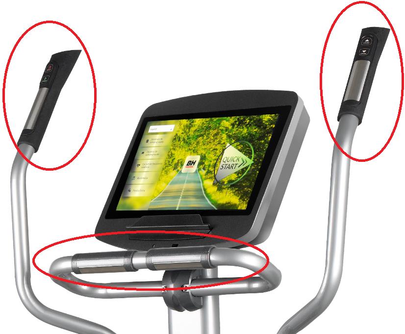 BH Fitness SK9300 SmartFocus řídítka