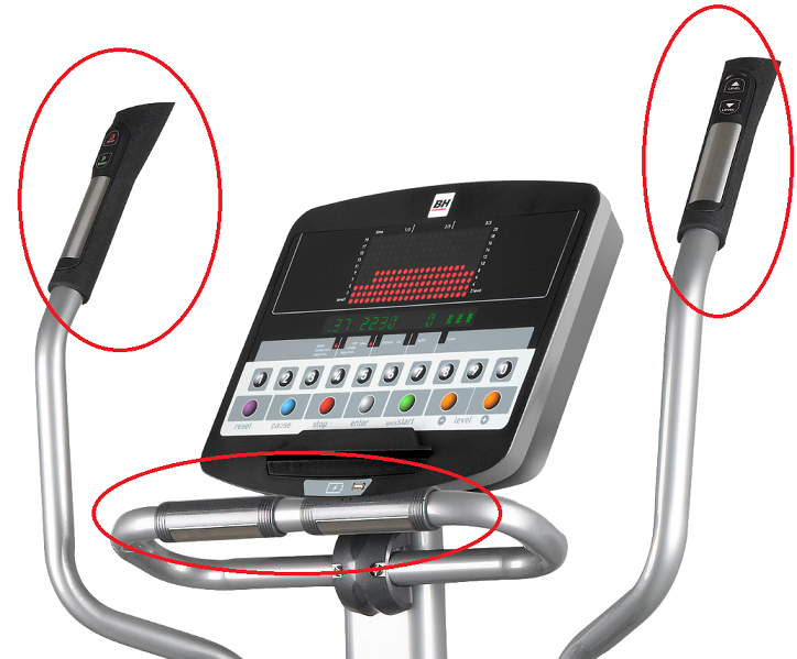 BH Fitness SK9300 LED hand pulse
