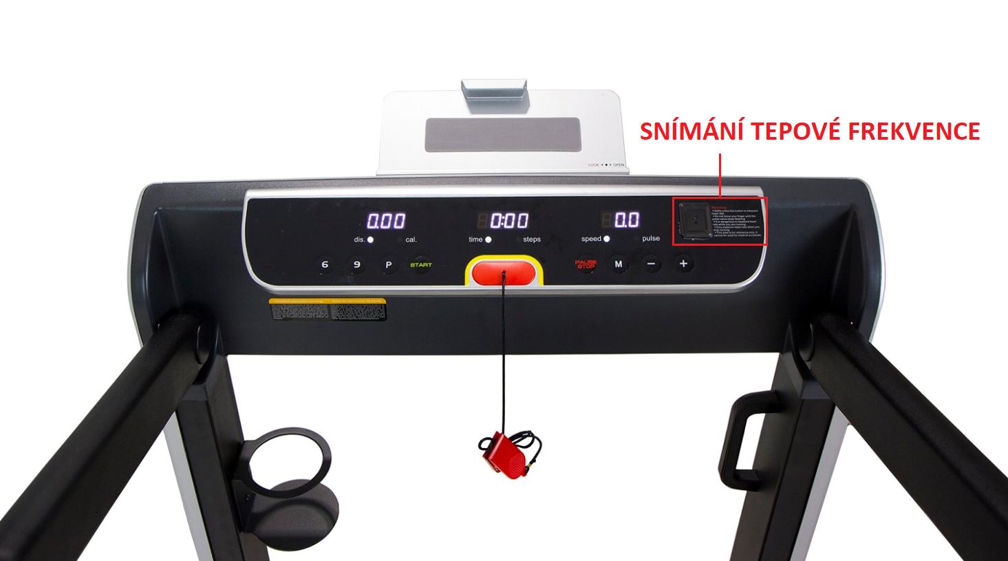 BH Fitness G6320 SlimRun monitor