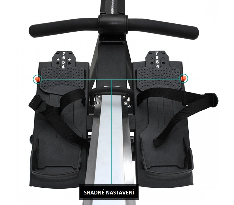 nášlapy XEBEX Air Rower 2.0 Smart Connect