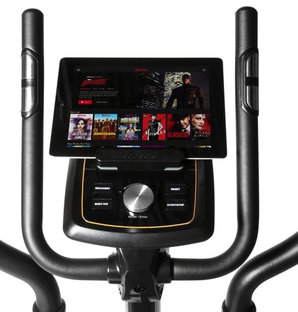 Flow Fitness Avoriaz i držák na tablet