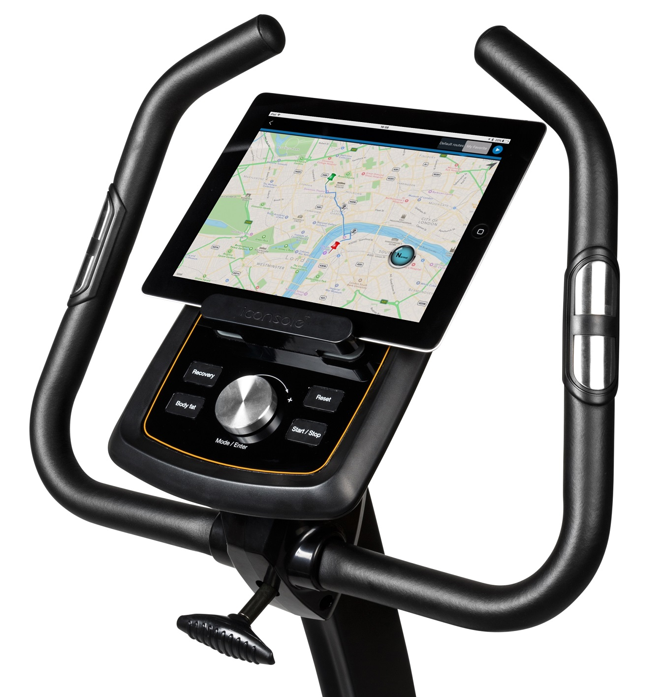 Flow Fitness Stelvio i držák na tablet