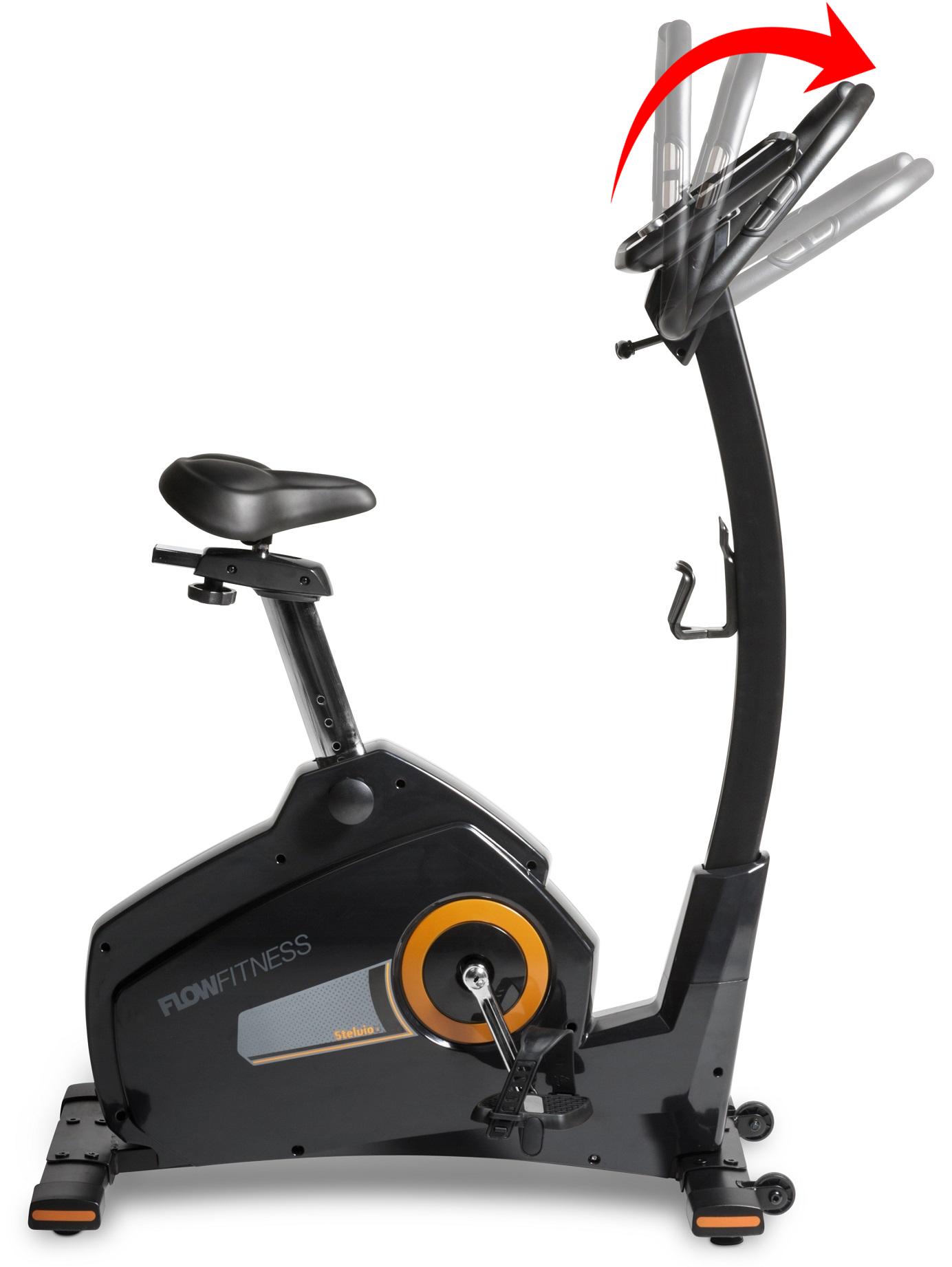 Flow Fitness Stelvio i nastavení řídítek
