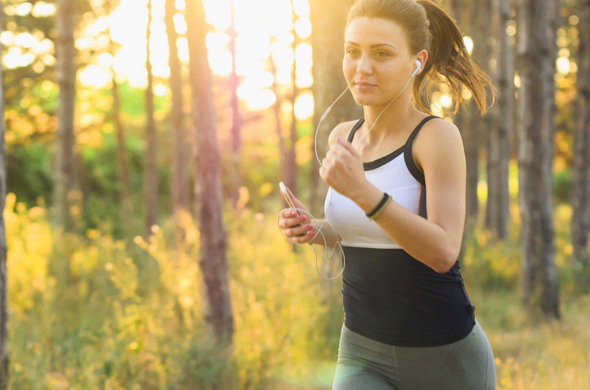 Cvičení venku_běh
