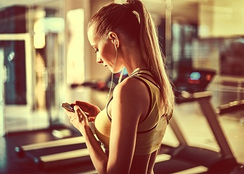 fitness aplikace