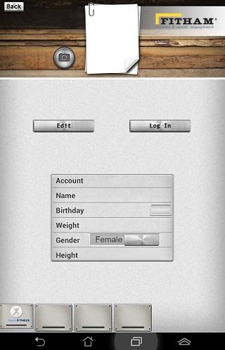 iConsole+ profil