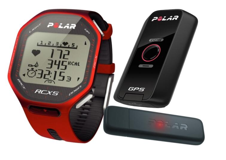 POLAR RCX5 G5 + datalink červený
