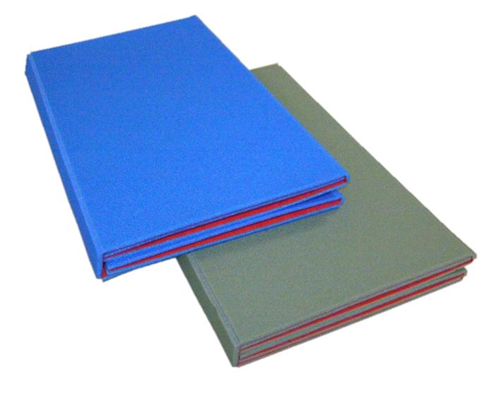 Podložka skládací LUX modro-červená