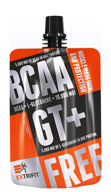 EXTRIFIT BCAA GT+ 80 g malina