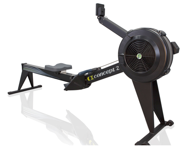 CONCEPT 2 E + monitor PM5 black