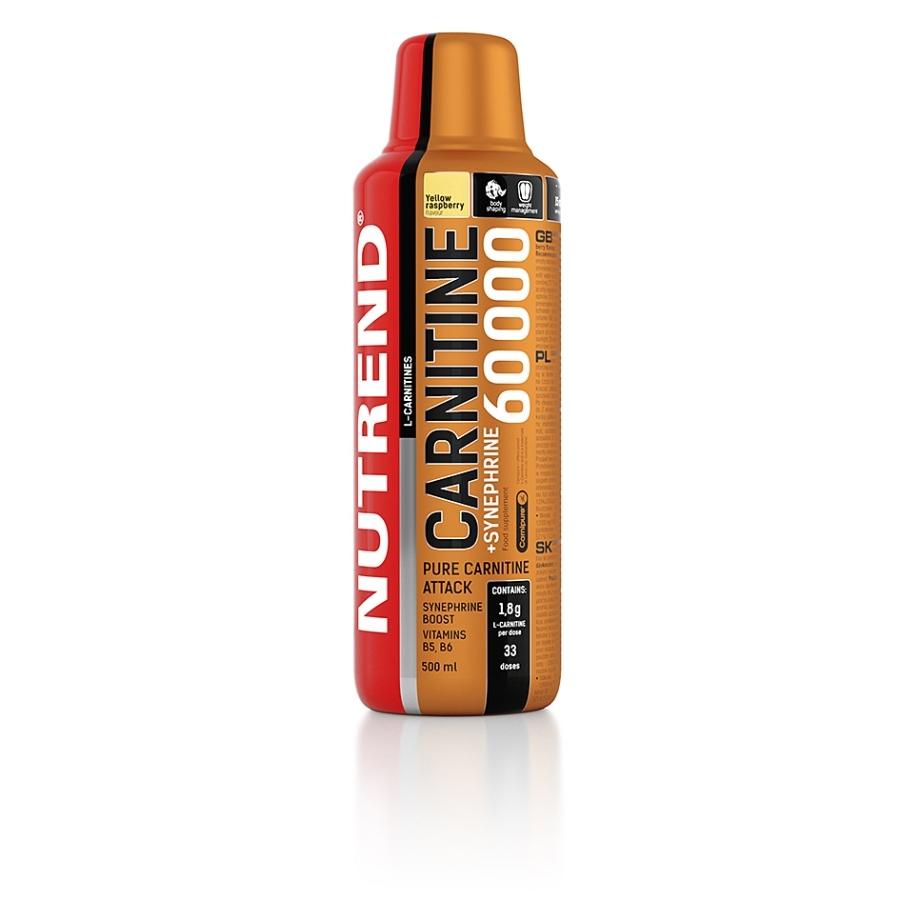 NUTREND Carnitin 60000 + synephrine 500ml malina