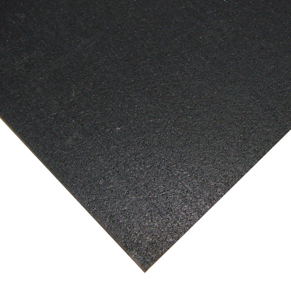 Sportovní gumová podlaha do fitness PROFI CF-A 8 mm černá