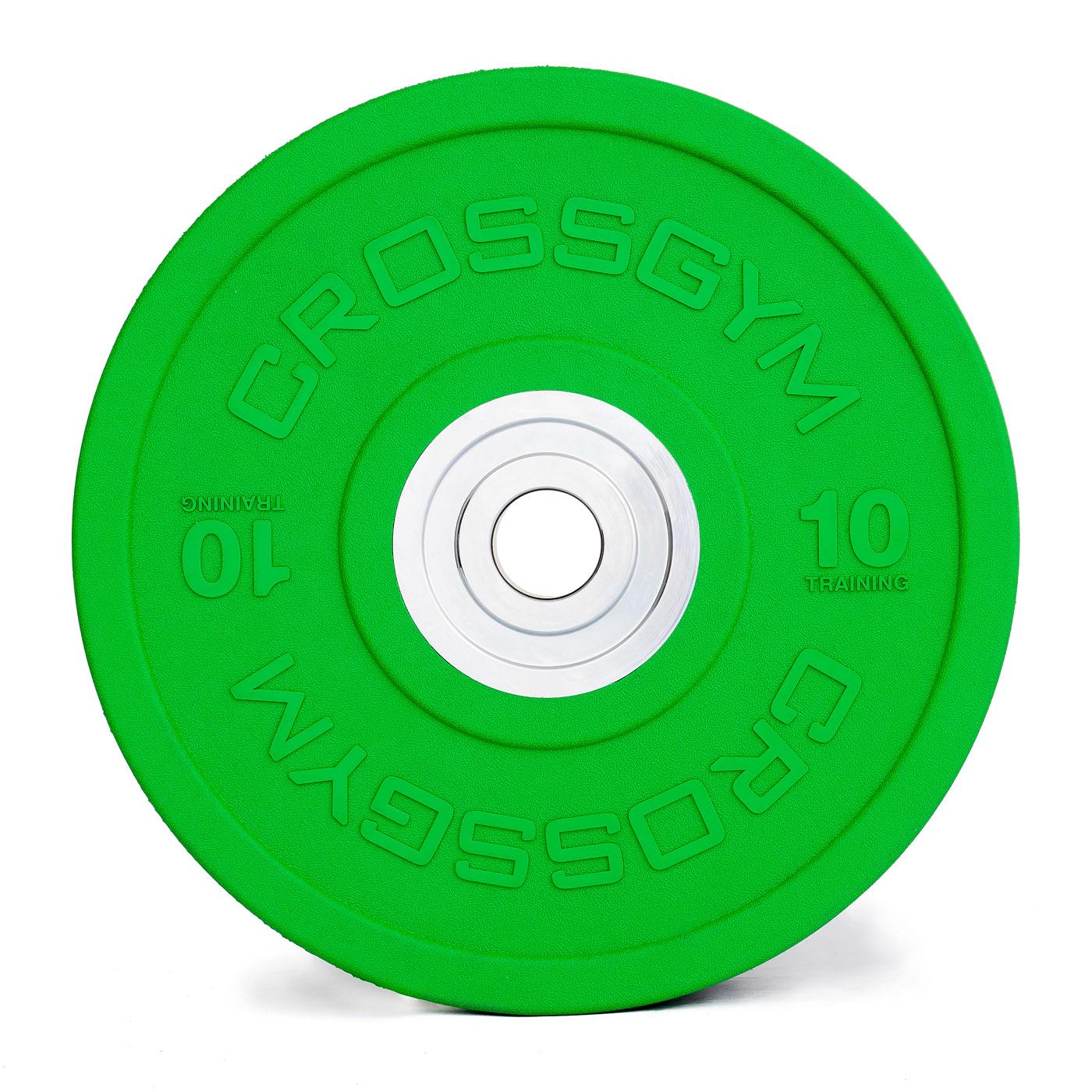Kotouč Bumper Plate 10 kg CrossGym