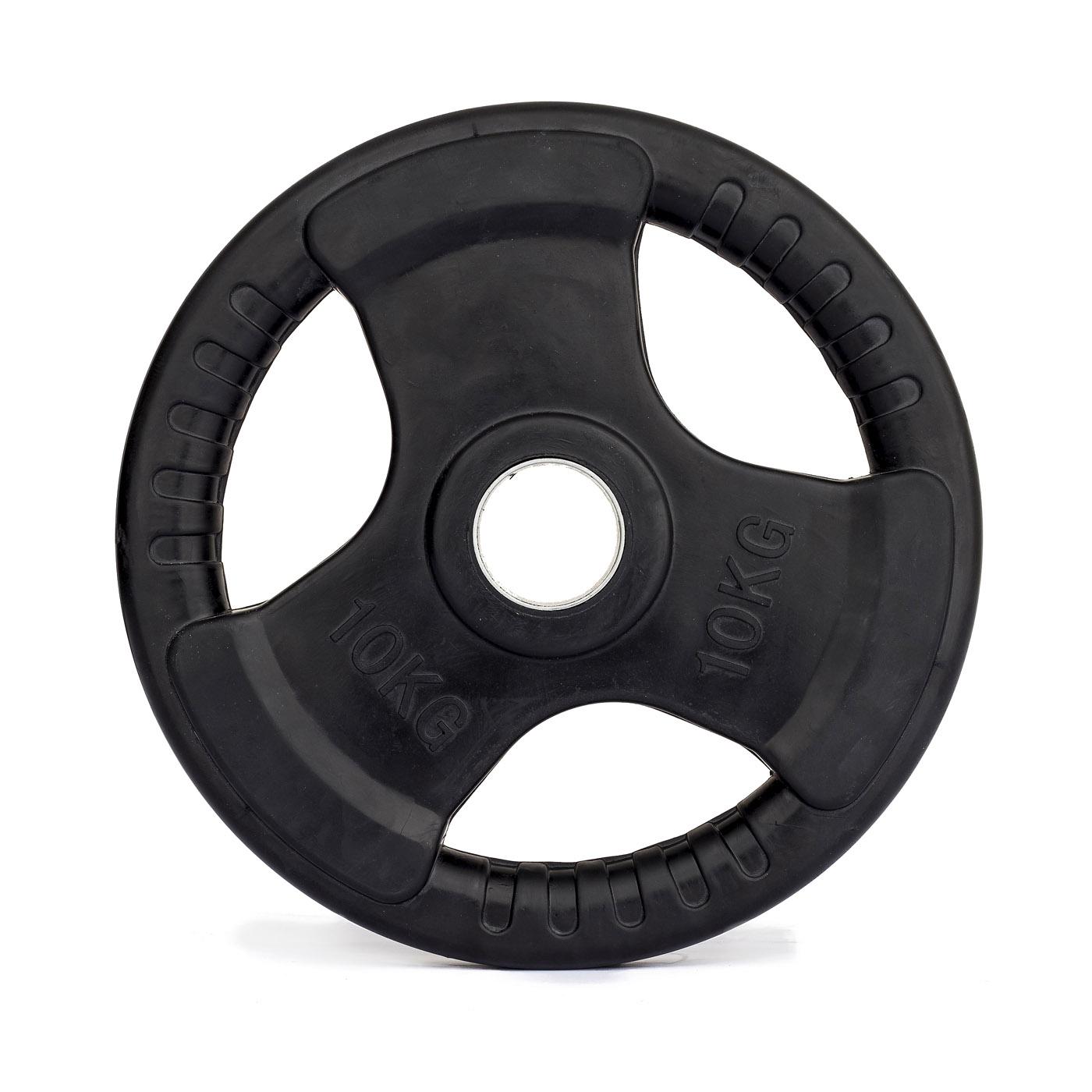 Kotouč olympijský pogumovaný TRINFIT 10 kg