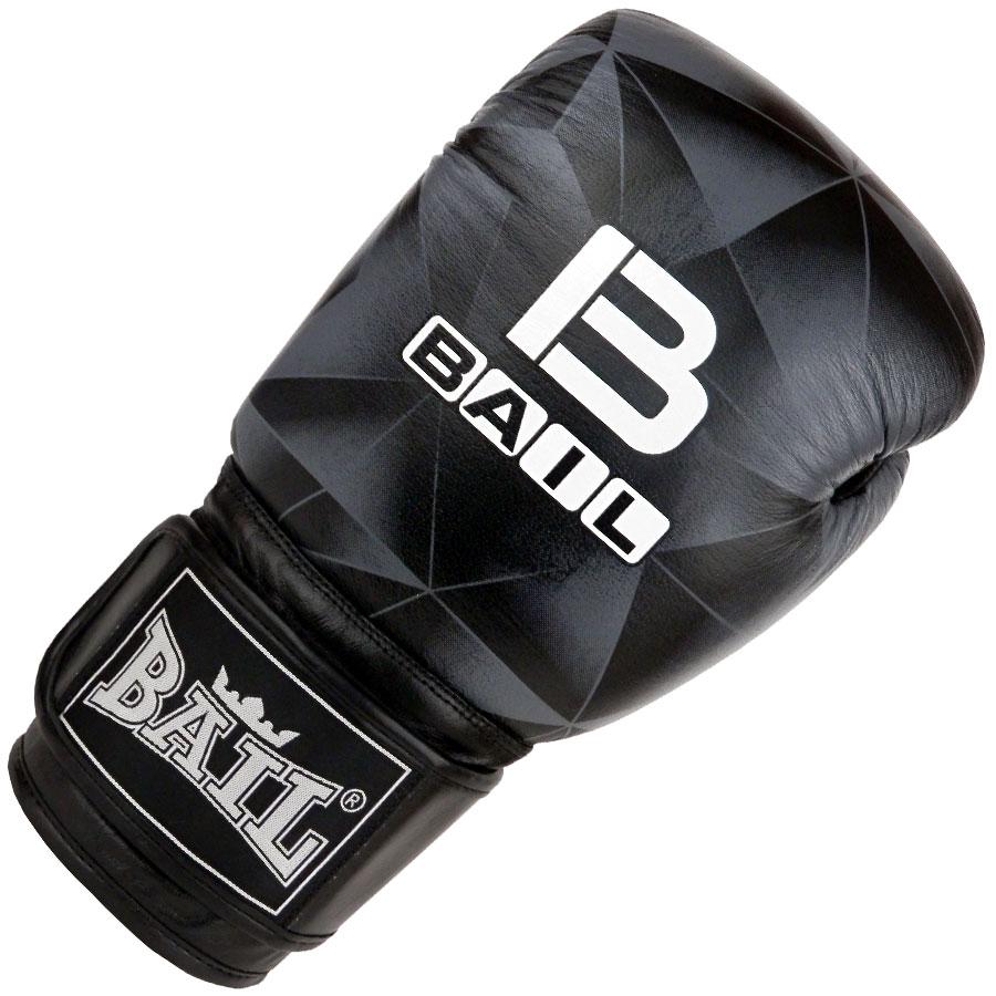 BAIL boxerské rukavice LEOPARD BLACK IMAGE 14 oz