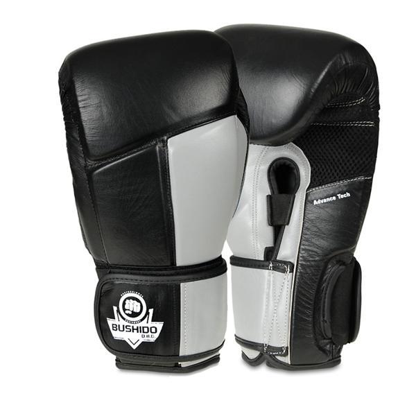 Boxerské rukavice kožené DBX BUSHIDO ARB-431 šedé 10 oz 26ea2b8486