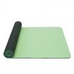 Jóga podložka TPE dvouvrstvá YATE tmavě zelená/světle zelená