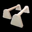 Opěrky na kliky dřevěné 50 cm